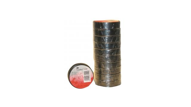 3m TAPE-BLACK/3M Templex Isolatie Tape 15 mm 10 M Zwart