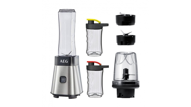 AEG SB 2900 Blender + 2 To Go Bekers RVS/Zwart