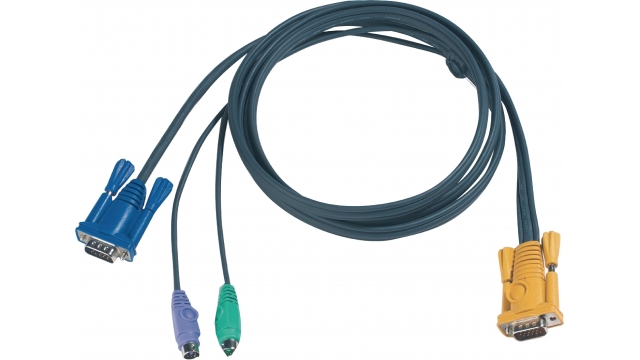 Aten 2L-5206P Kvm Special Combination Cable, Vga/ps/2
