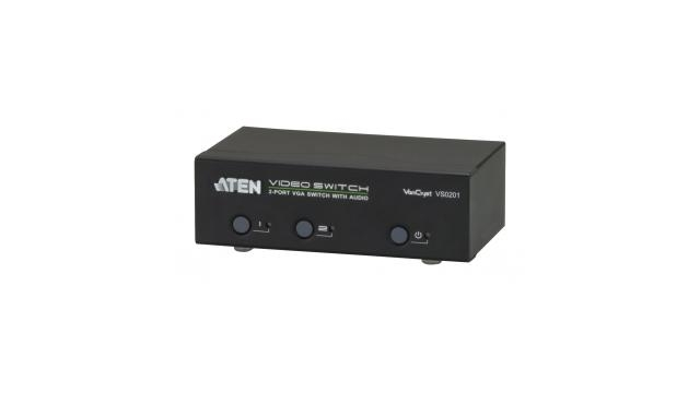 Aten At-vs0201 2-poorts Vga-audio/video-switch