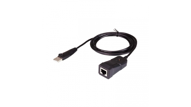 Aten UC232B-AT Usb 2.0-adapter Straight Usb Type A - Rj45 Zwart