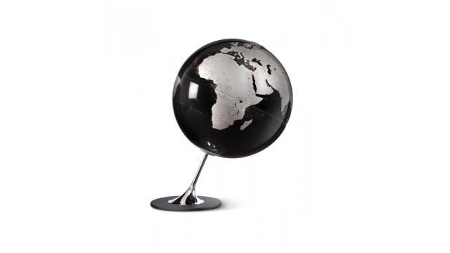 Atmosphere NR-0324AGYN-GB Globe Anglo Black 25cm Diameter Metaal / Chrome