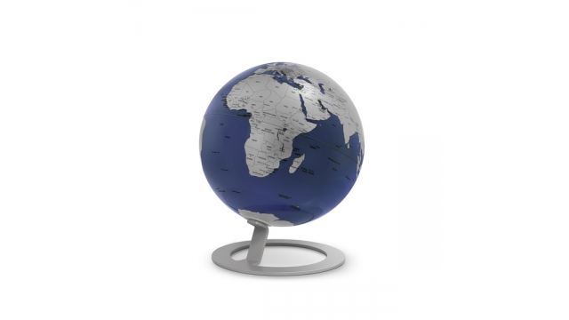 Atmosphere NR-0324IGMB-GB Globe IGlobe Blue 25cm Diameter Metaal/chroom