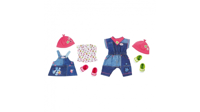 Baby Born De Luxe Jeans Collection Assorti