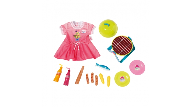 Baby Born Play & Fun Barbeque Set