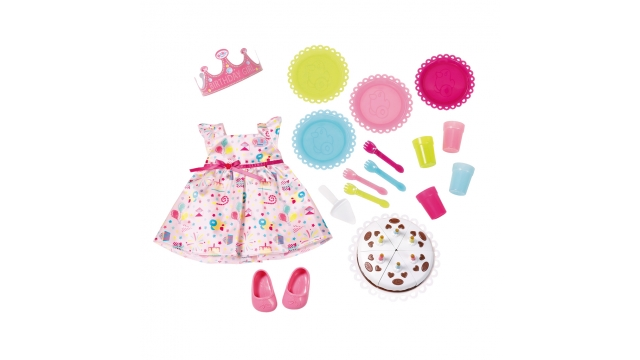 Baby Born De Luxe Party Set