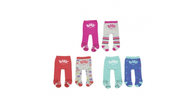Baby Born Trend Tights 2 Stuks Assorti