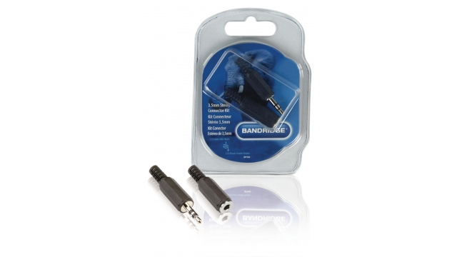 Bandridge BPP400 Audio Connector Kit 3.5 Mm Zwart