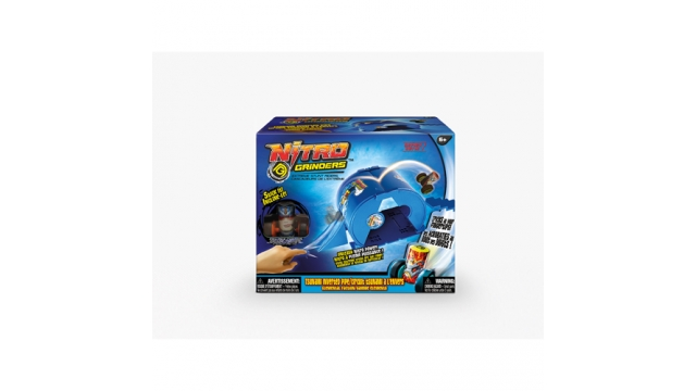 Nitro Grinders Starters Ramp Pack Tsunami Inverted Pipe Blue