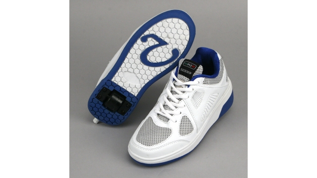 Mapleaf Fashion Roller Sneakers 39 Wit/Blauw