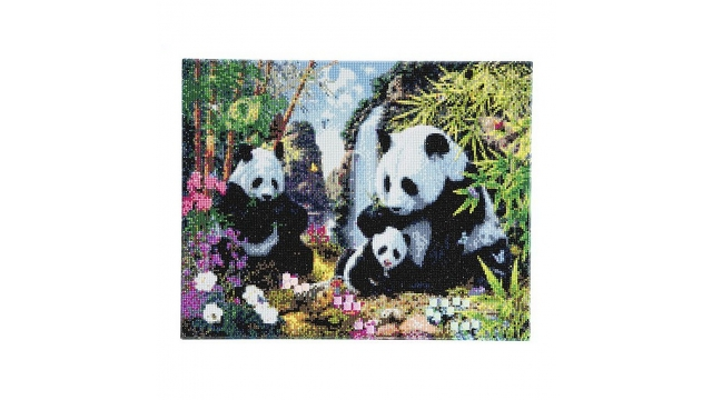 Craft Buddy Crystal Art Kit Diamond Painting Panda's