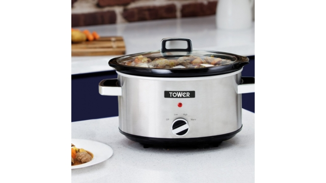 Tower T16019 Slowcooker 6.5L RVS