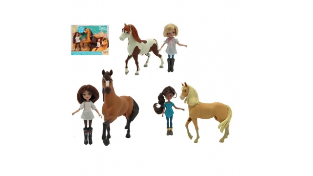 Dreamworks Spirit Paard met Pop Assorti