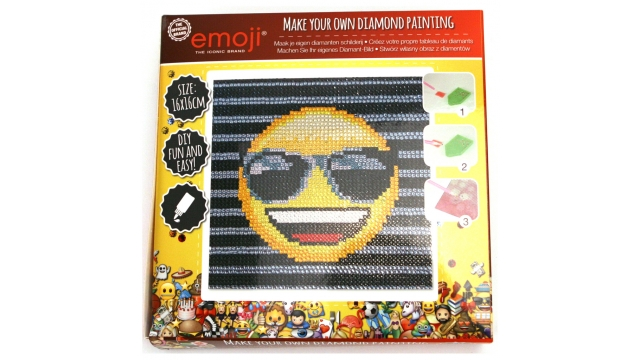 Emoji Diamond Painting Assorti