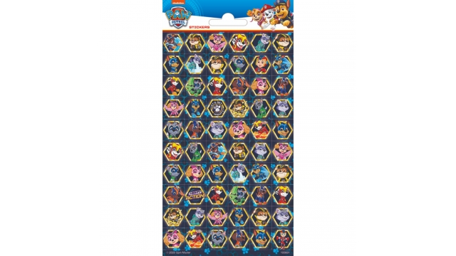 Paw Patrol Mighty Pups Stickers
