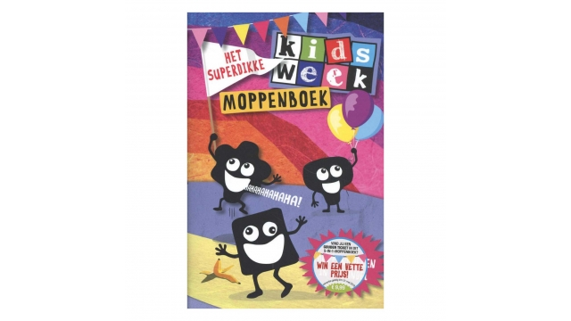 Kids Week Moppenboek