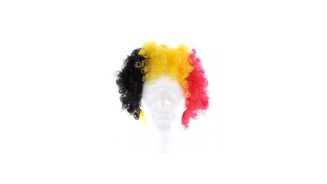 Belgian Red Devils   Wig 3 Colors