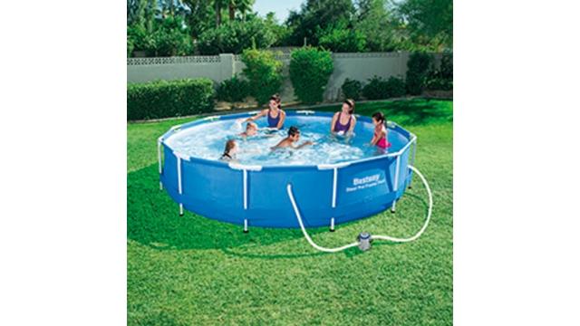 Aximax zwembaden for Rechthoekig zwembad met pomp
