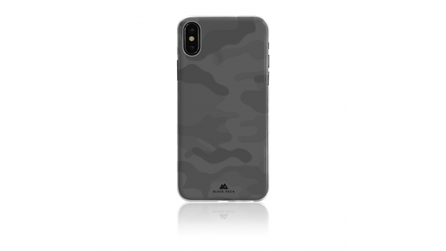 Black Rock Cover Camouflage IPhone X Transparant