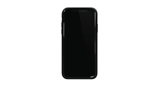 Black Rock Cover Material Real Carbon IPhone X Zwart