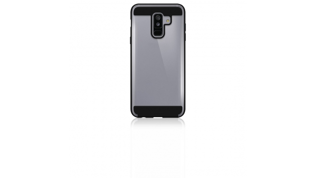 Black Rock Cover Air Protect Voor Samsung Galaxy A6+ (2018) Zwart