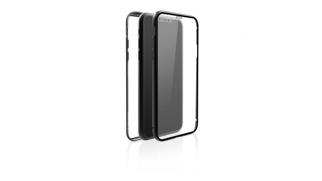 Black Rock Cover 360° Glass IPhone 11 Pro Max Zwart