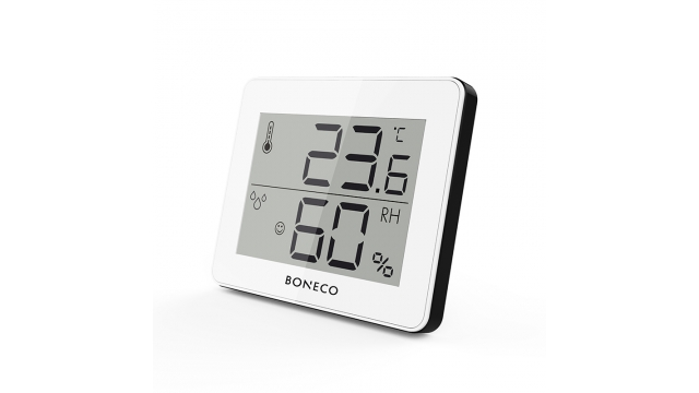 Boneco X200 Thermo-Hygrometer met LCD-Display Wit