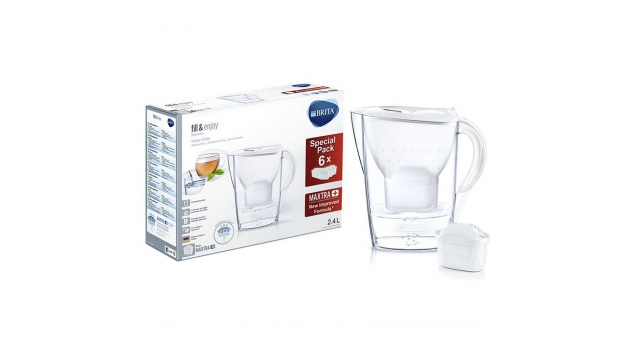 Brita Fill and Enjoy Marella Waterfilterkan + 6 Filters