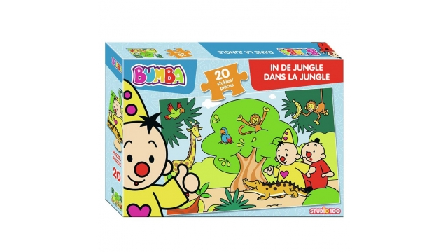 Bumba Puzzel In de Jungle 20 Stukjes