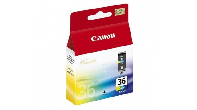 Canon Can Cli36 3xkl En 1xzw 12ml Orig