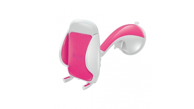 Celly M134885 Universele Autohouder Flex 15 Roze Voor Smartphones Tot 100mm