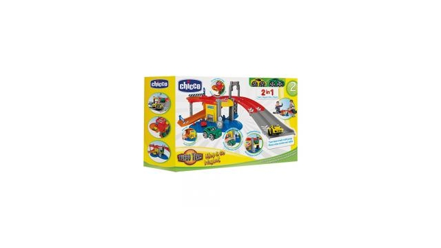Chicco Stop & Go 2in1 Garages met 2 Auto's