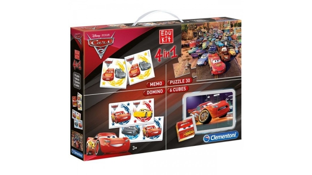 Clementoni Cars 3 Superkit 4in1 Spellen