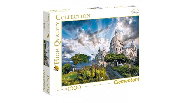 Clementoni High Quality Collection Mont Martre Puzzel 1000 Stukjes