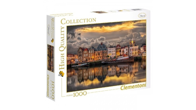 Clementoni High Quality Collection Dutch Dreamworld Puzzel 1000 Stukjes