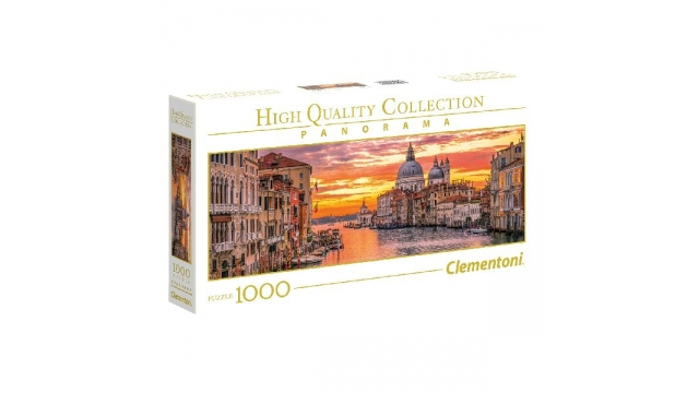 Clementoni High Quality Collection Panorama Venetië Puzzel 1000 Stukjes