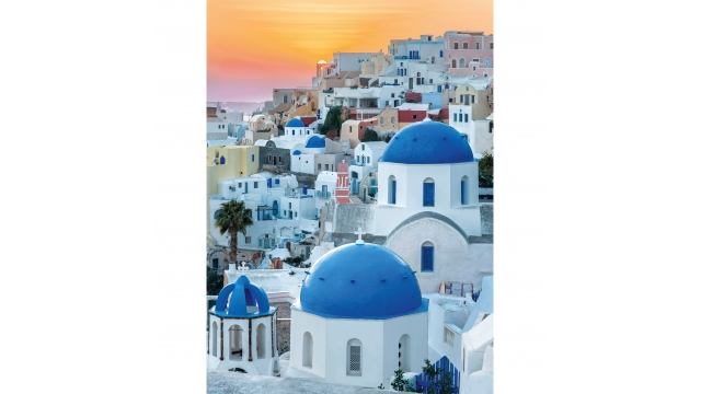Clementoni High Quality Collection Puzzel Santorini 1000 Stukjes