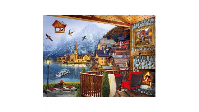 Clementoni High Quality Collection Puzzel Hallstadt 1000 Stukjes