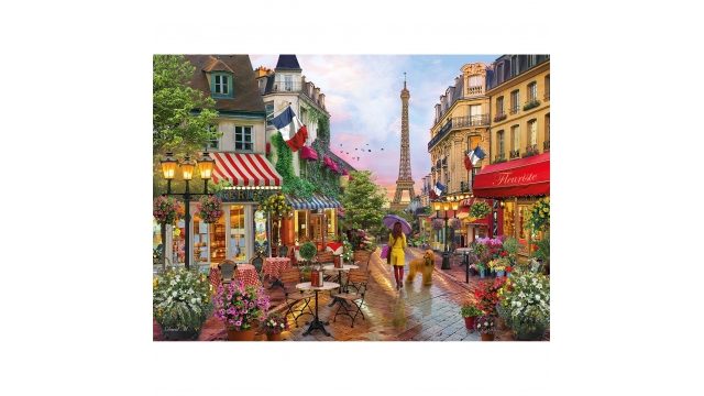 Clementoni High Quality Collection Puzzel Flowers in Paris 1000 Stukjes