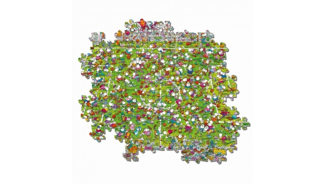 Clementoni Mordillo Puzzel The Match 1000 Stukjes