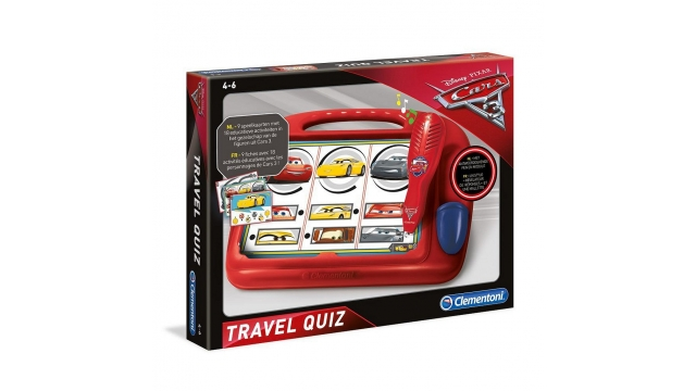 Clementoni Cars 3 Travel Quiz