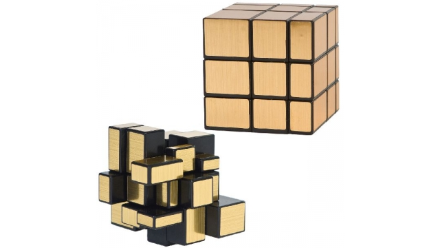 Clown Games Magic Cube Puzzle Gold Limited Edition
