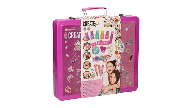 Create It! Make-Up Koffer Roze