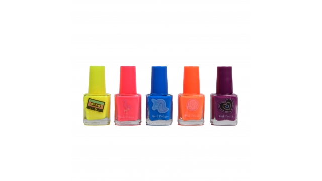 Create It Neon Nagellak 5 Stuks