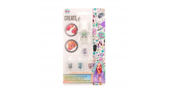 Create It Zeemeermin Nail Art Set