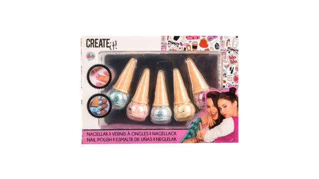 Create It Icecream Nagellak 5 Stuks