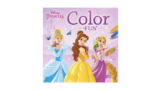 Deltas Kleurboek Diensy Princess Color Fun