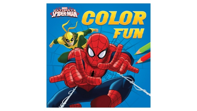Deltas Kleurboek Spiderman Color Fun