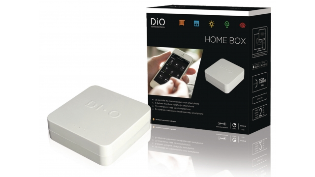 DI-O ED-GW-01 Smart Home Centrale Besturingsmodule 868 Mhz / 433 Mhz