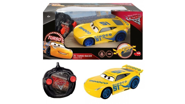 Disney Cars 3 RC Cruz Ramirez Turbo 17cm